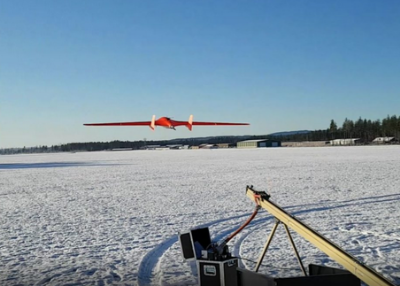 AU-200 Stealth Wing UAV drone with live video streaming