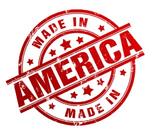 Made in America stamp for tactical equipment and biomedical supplies